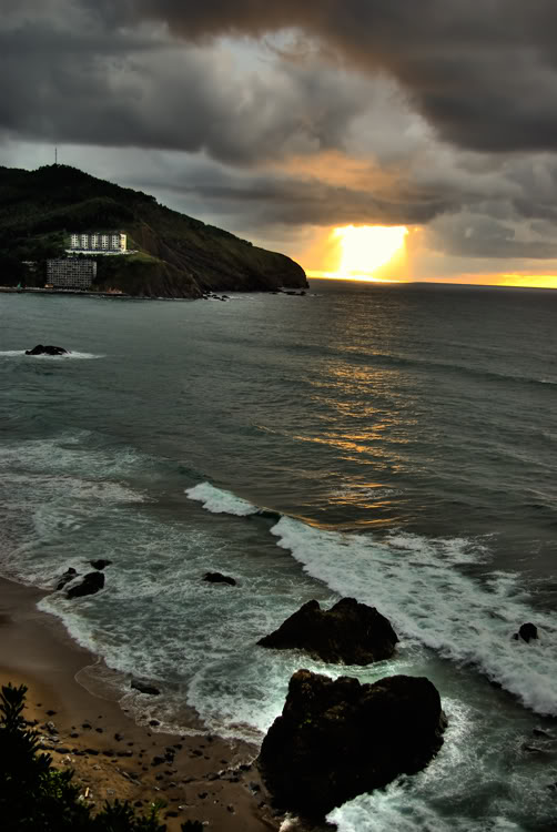 Atardecer en Bakio Pictures, Images and Photos